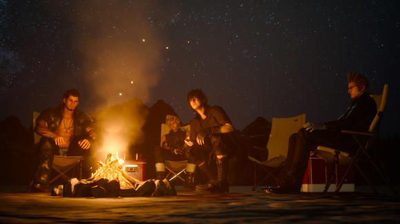 ffxv-camping