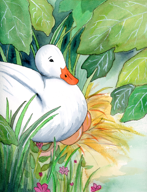 Mother Duck--from The Ugly Duckling