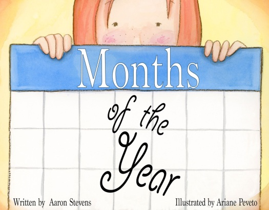 Cover Art for Months of the Year--Illustration for Amerlish