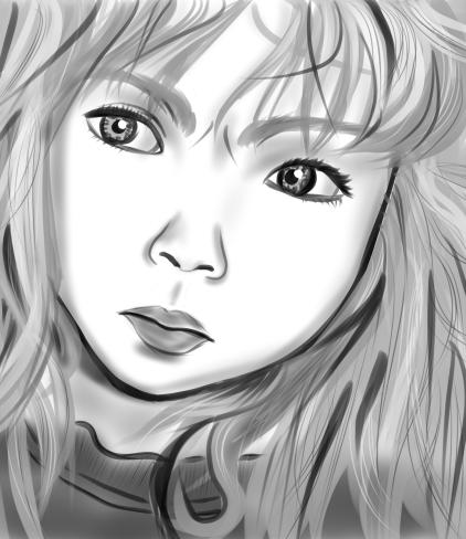 Digital sketch practice