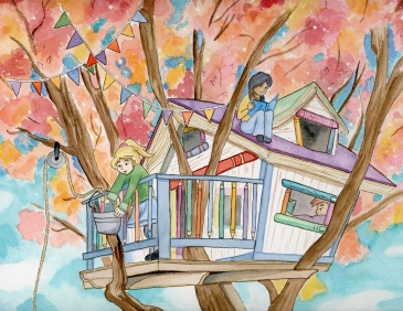 The Treehouse--SCBWI Calendar Contest entry