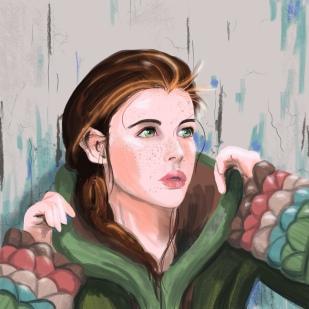 Portrait Practice Strong Color- A 2